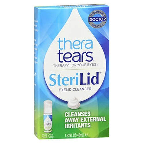 Sterilid Eyelid Cleanser - TheraTears SteriLid Eyelid Cleanser 1.62 oz (Pack of 2)