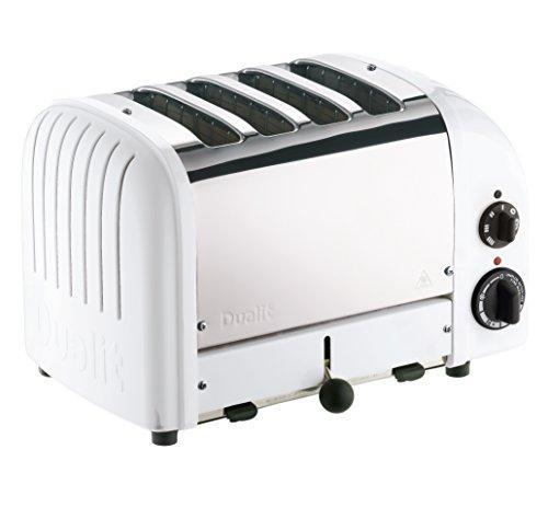 Dualit 47153 NewGen Toaster, White