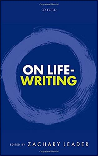 On Life-Writing 1st Edition