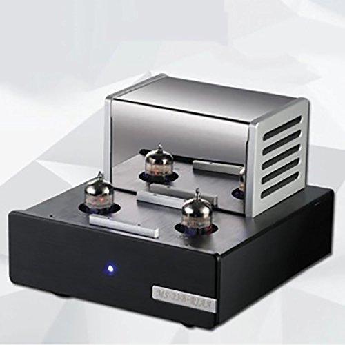 kohstar MS-23B Valve Tube Amplifier Phono Stage MM RIAA Turntable HiFi Stereo Vacuum Tube pre-Amplifier 110-240V MS23B (Riaa Record)