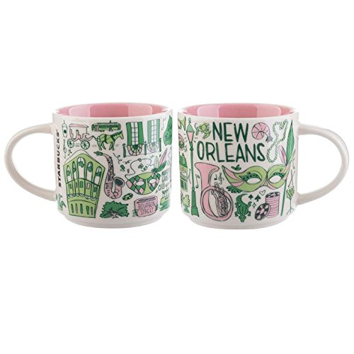 Starbucks New Orleans Ceramic Coffee Mug Been There Series Cup by Starbucks (Image #1)