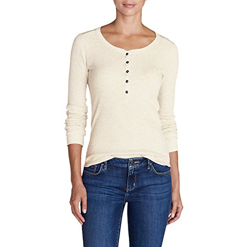 Stine's Favorite Thermal Henley, Ivory Tall XXL ()