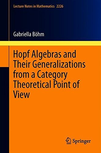 Hopf Algebras and Their Generalizations from a Category Theoretical Point of View