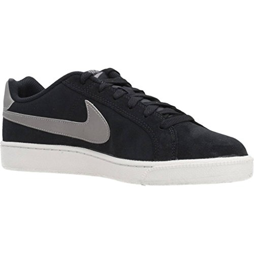 Pewter Bone Sneakers Black Black Nike Mtlc Black Royale Court Suede Light Men qxPIwB