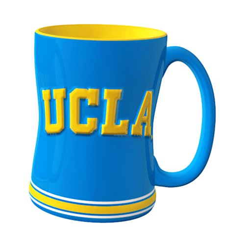 NCAA UCLA Bruins Sculpted Relief Mug, 14-Ounce