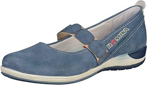 Romika 46303 Damen Ballerinas Blau