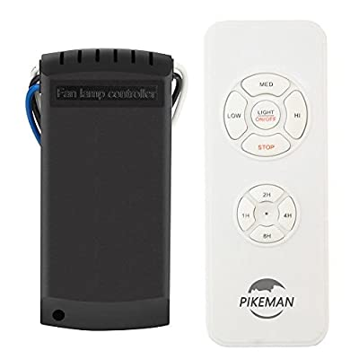 Ceiling Fan Remote Control replace Hampton Bay Hunter CFL LED FAN-HD UC7078T CHQ7078T L3H2010FANHD FAN-HD5 -Pikeman