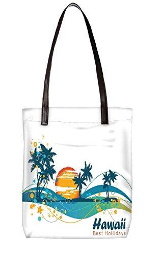 Snoogg Strandtasche, mehrfarbig (mehrfarbig) - LTR-BL-5311-ToteBag
