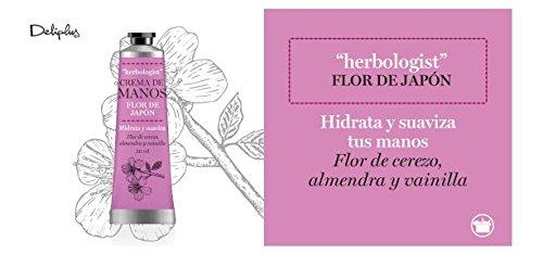 Crema de manos flor de japon herbologist 30 ml - Flor de cerezo, almendra y vainilla.: Amazon.es: Belleza