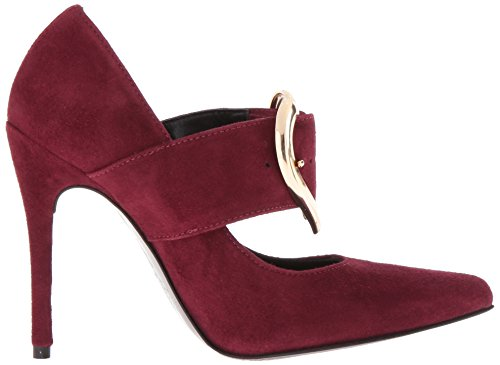 Love Moschino Women's Heel Dress Pump, Oxblood, 40 EU/10 M US by Love Moschino (Image #7)