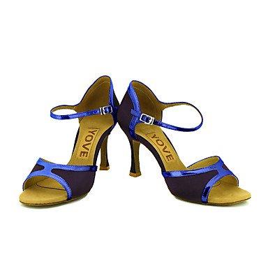 Ue 8 Dança Uk 7 41 10 42 Xiamuo 5 sapatos Mulheres Cn Profissional Personalizáveis De Rosa Nos 5 9 OnpIP6aq