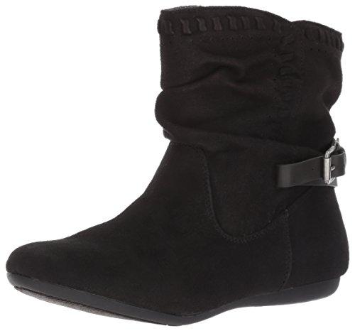 Report Women's Elaina Ankle Bootie, Black, 7.5 M US