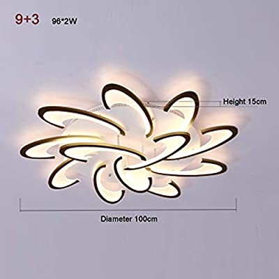 Stepless Dimming Led Remote Control Ceiling Light Modern Acrylic Creative Personality Living Room Bedroom Lamp