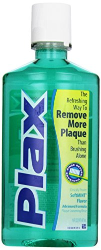 - Plax Advanced Formula Plaque Loosening Rinse, Soft Mint, 16 oz