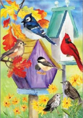 Premier 52496 House Brilliance Flag, Fall Feathered Friends, 28 by 40-Inch Review