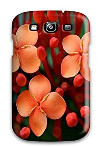 For Galaxy S3 Premium Tpu Case Cover Flower Protective Case