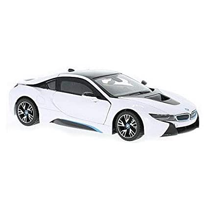 Amazon Com Rastar Officially Licensed Bmw I8 Authentic W Open Doors