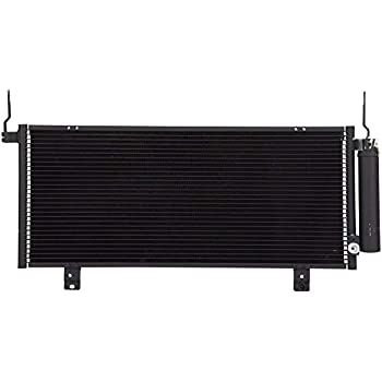 New Condenser For Mitsubishi Galant 2004-2011 2.4 L4 3.8 V6 Lifetime Warranty