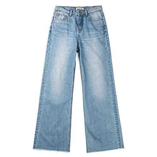 hohe Beine Jeans Sommer dnne MVGUIHZPO Frauen und M Jeans dnn Lose Hosen Jeans Weite Taille Femme Freizeit 8ddgxv