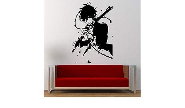 supmsds Animación Guerrero Espada Samurai Habitación de ...