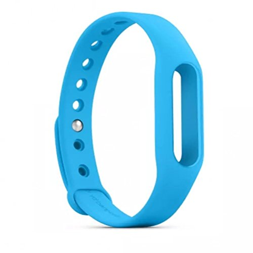 Wrist Strap - Yarrashop Waterproof Replacement Band Wristbands for XiaoMi Wireless Wristband Bracelet (Blue)