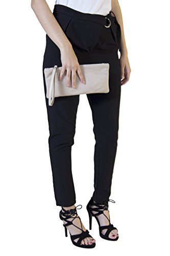 Morgan Visioli Fashion Unisex adulto cuello bajo crema