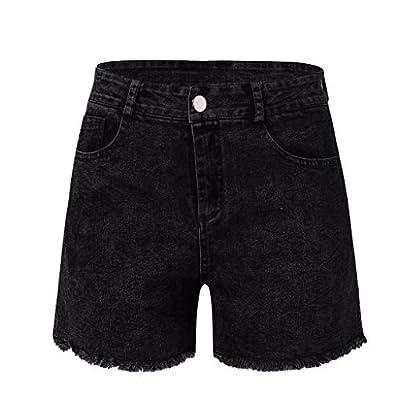 RAINED-New Women Summer Short Jeans Denim Female Pockets Stretchy Vintage Denim Shorts High Waist Shorts