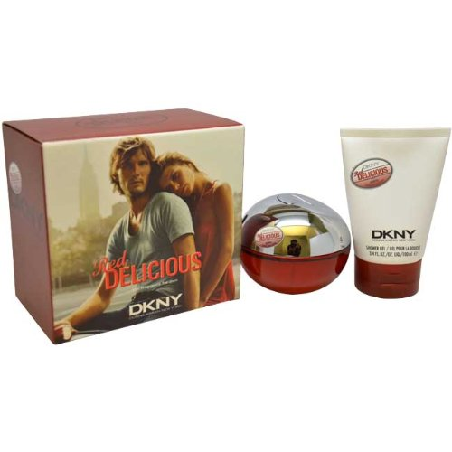 DONNA KARAN Red Delicious Men Gift Set (Eau De Toilette Spray, Shower Gel)