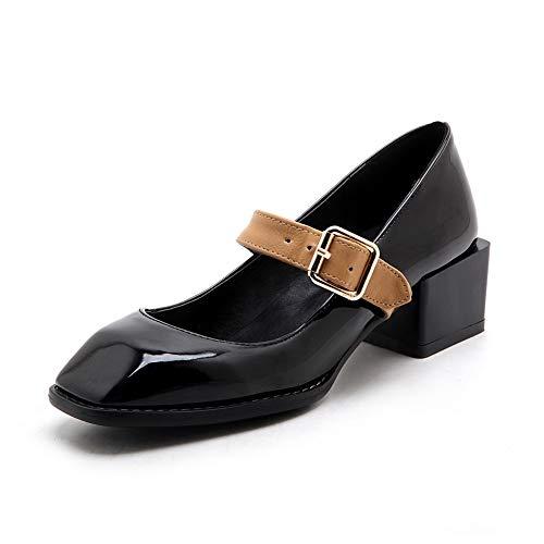 BalaMasa Sandales Femme Compensées Noir APL10709 77pFqRw
