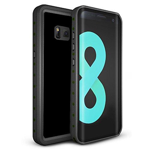 Galaxy S8 Waterproof Case, TRONOE [New Version] Underwater Waterproof Shockproof Dirtproof Full Sealed Case Cover for Samsung Galaxy S8