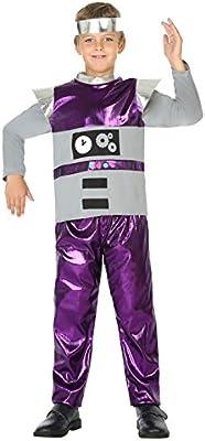 Atosa 39399 Robot, Disfraz, 116: Amazon.es: Juguetes y juegos