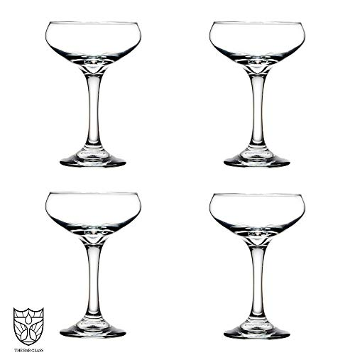 The Bar Glass Coupe Glasses (4, 8.5 oz)