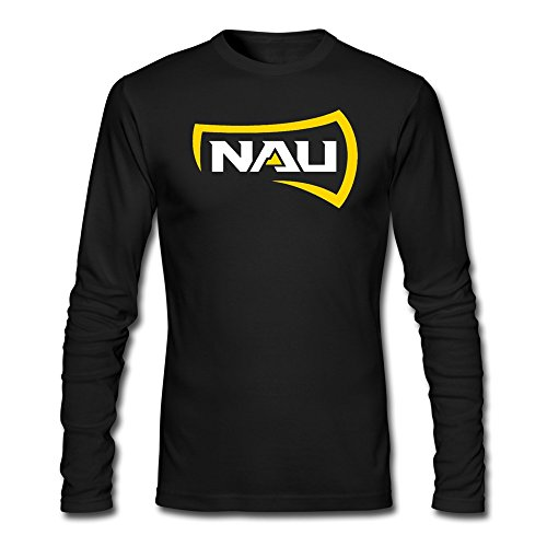 Man Northern Arizona University Logo Unique Long Sleeve Teeshirt (North Central Association Of Colleges And Schools)