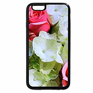 iPhone 6S / iPhone 6 Case (Black) Flower