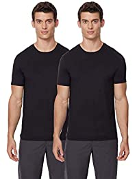 Cool Mens 2 Pack Short Sleeve Crew Neck