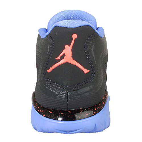 Nike Jordan Volo Flex Trainer 2 Mens Scarpe Da Basket Nero / Arancio / Blu (anthrct / Hypr Orng-blk-unvrsty)