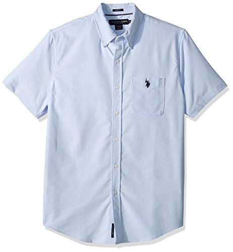 U.S. Polo Assn. Men's Short Sleeve Classic Fit Solid Shirt