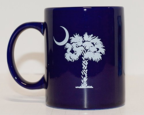 South Carolina State Ceramic Coffee Mug with (South Carolina Coffee Mug)