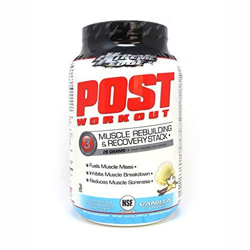 Bluebonnet Nutrition Extreme Edge Post Workout Powder, Vanilla Flavor, 2.25 Pound