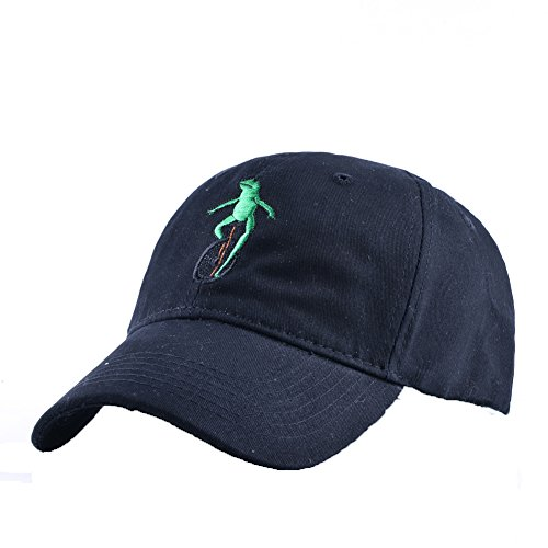 Unisex Kermit Frog Ride Strapback Hat Adjustable Baseball Caps (Frog Trucker Hat)