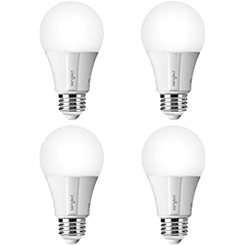Element Classic by Sengled - 4 Pack - A19 60W Equiv. Daylight (5000K) Smart LED Bulb, Zigbee, Works with Amazon Echo Plus & SmartThings, Hub Required for Amazon Alexa & Google Assistant