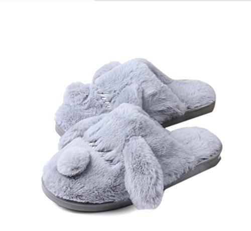 Lovely Bedroom Winter Dog Shoes Indoor Slippers Size Cartoon Home Cute DANDANJIE Slippers Warm New Large Cotton 745gxqw81