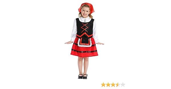 Disfraz de Pastora Infantil (1-2 años): Amazon.es: Juguetes y juegos