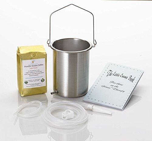 Purelife Glass Enema Kit Non Toxic