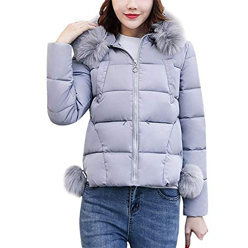 Reduced Short Casual Mode Quilted Fashion Fur Sleeve with Jackets Winter Down Women's Long Jacket Warm Down Jacket Solid Rosa Coat Hood Elegant Zip Colors Adelina Outdoor wqXZtIOn
