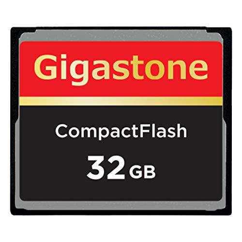 Gigastone 32GB CompactFlash Card Ultra Compact Flash Memory Card ...