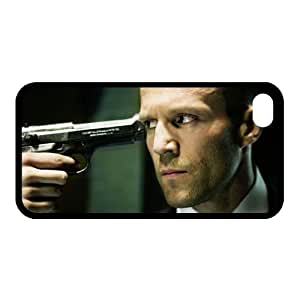 Iphone 4 4s Cubierta Durable Tema Caso duro pl¨¢stico Jason StathamE-6699