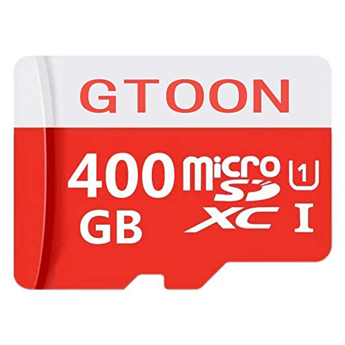 400GB Micro SD SDXC Memory Card High Speed Class 10 with Micro SD Adapter (400GB)