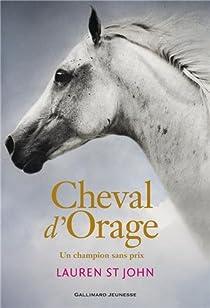Cheval d'Orage, tome 1 : Un champion sans prix par St John