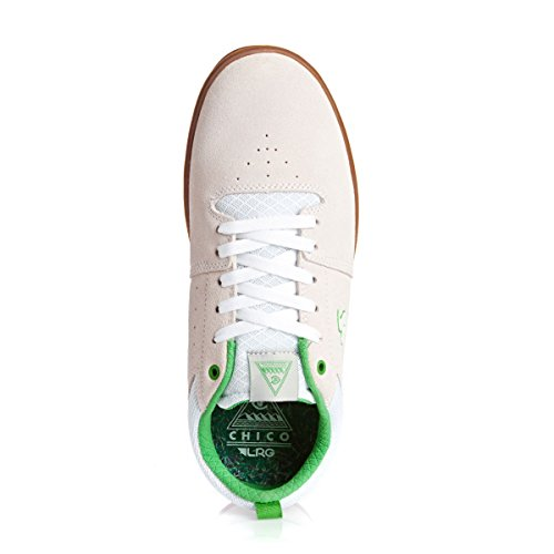 DVS Skate Shoes NICA LRG WHITE SUEDE Size 12